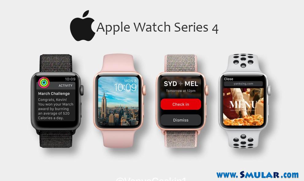 apple watch series 4 features list