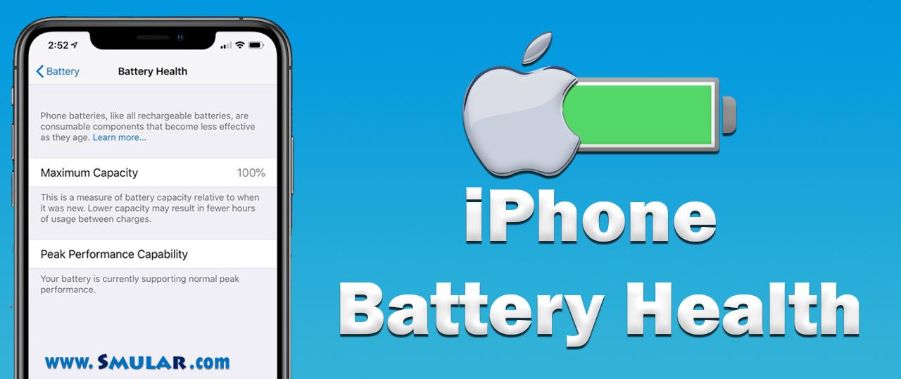 iphone battery health