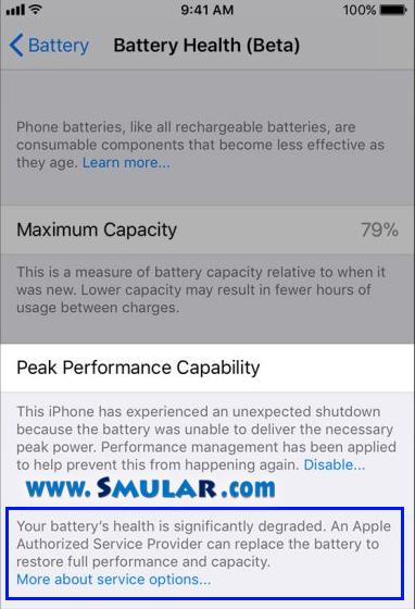 iphone unexpected shutdown 3