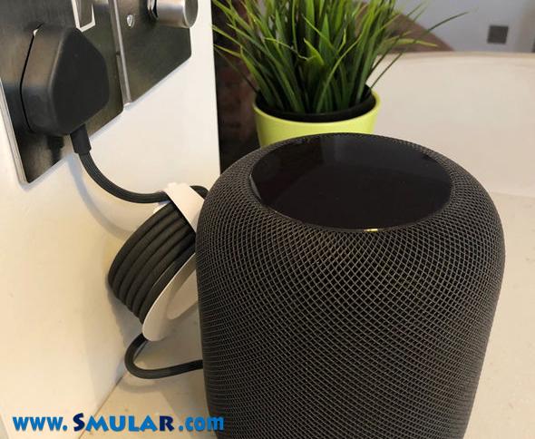 plug apple homepod