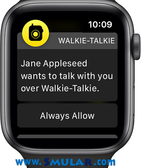 walkie talkie app how to accept invivations