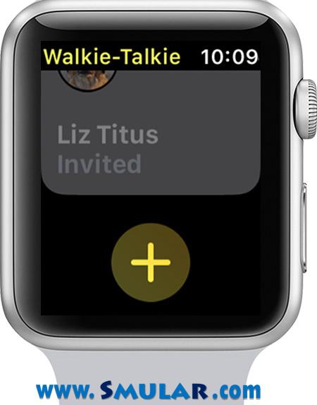 walkie talkie app how to add friends