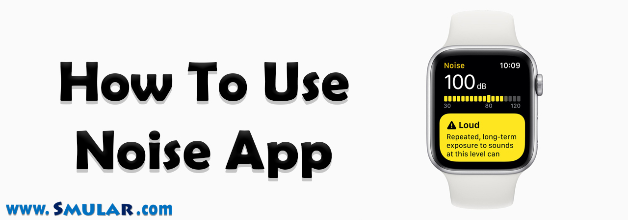 how to use noise app