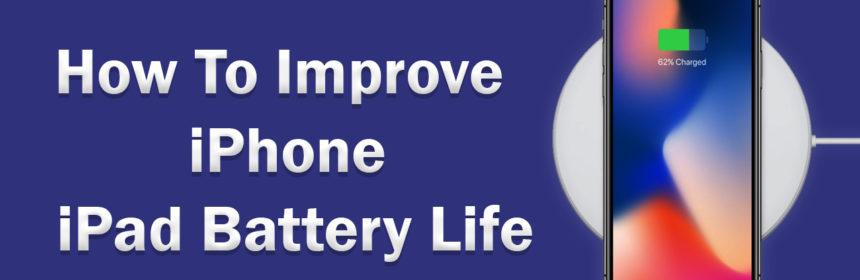 improve iphone battery