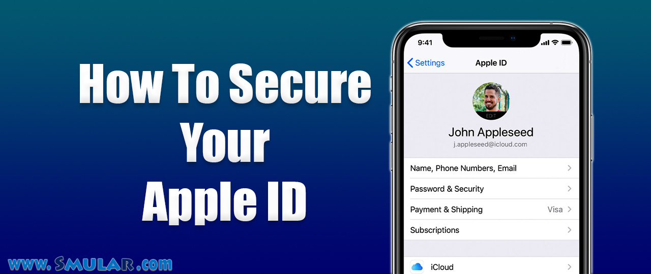 how to secure apple id