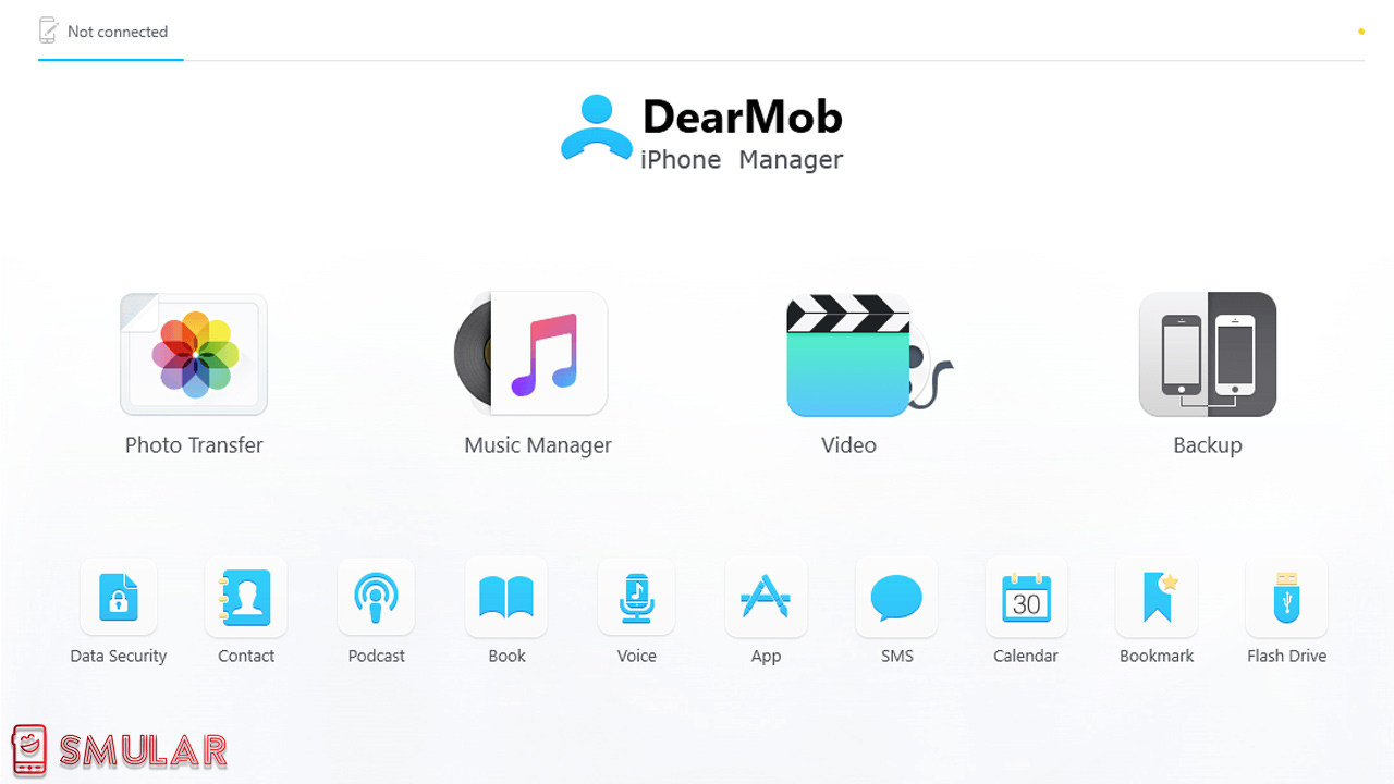 backup iphone dearmob