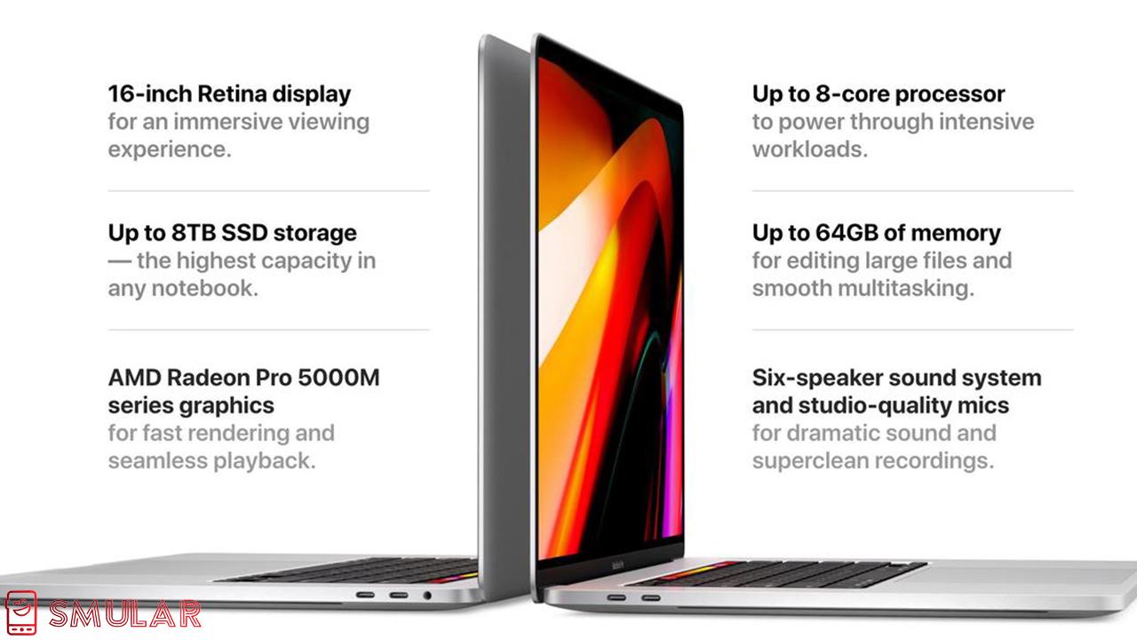 16 inch macbook pro specs