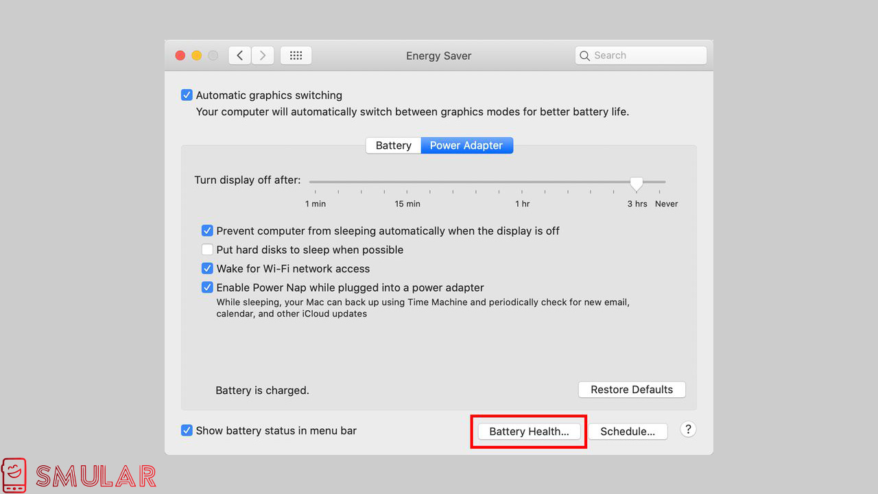 battery health macos