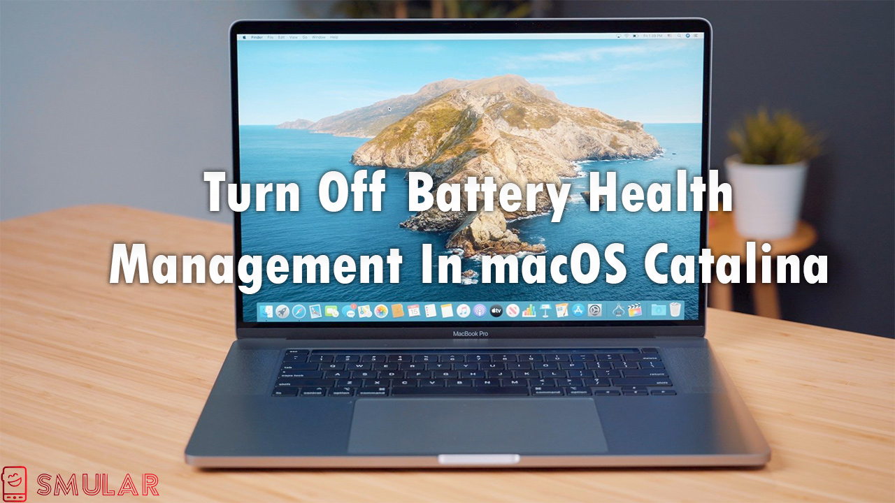battery health management macos catalina