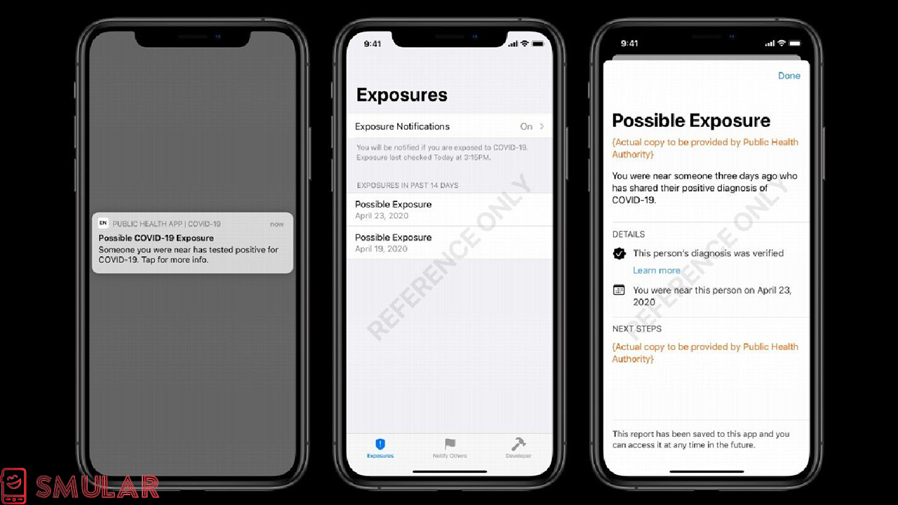 how apple exposure notification works