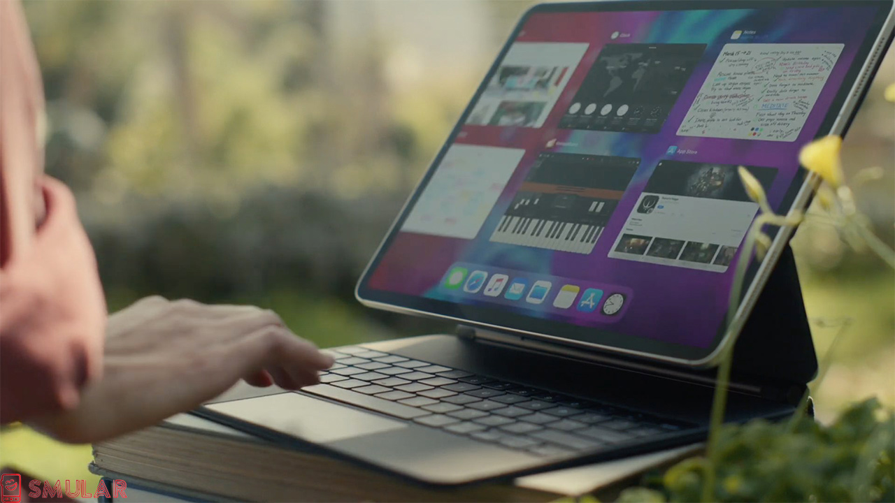 ipad pro magic keyboard trackpad gestures