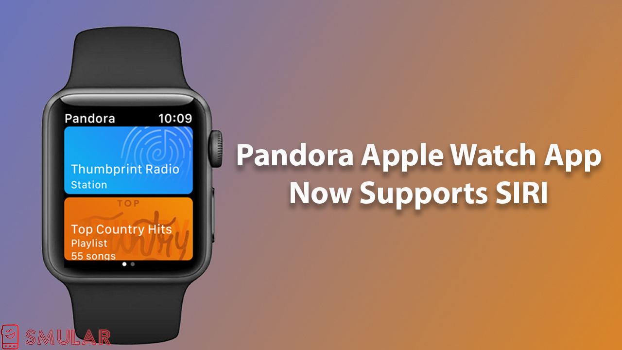 pandora app supports siri